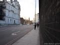 Wall Street, London Februar 2014, Lower Grosvenor Pl, Blick Richtung Lower Grosvenor Gardens, Nähe The Royal Mews