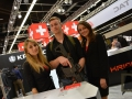 IWA 2015, Ripperkon am Messestand von KRISS