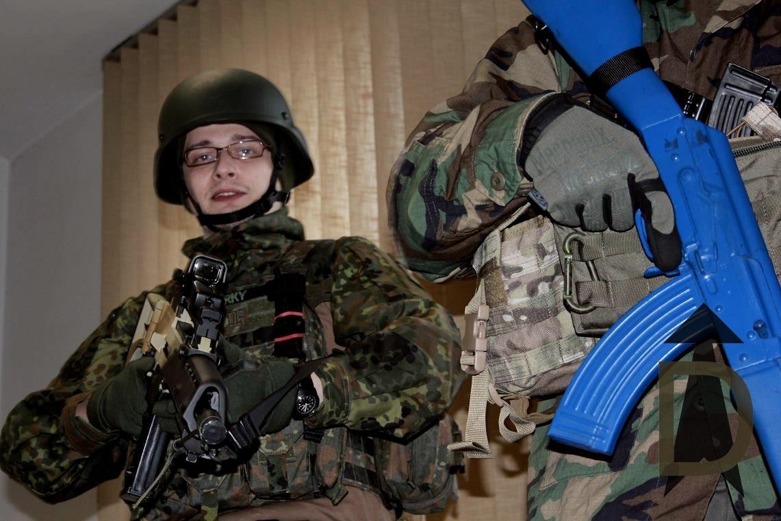 OHK Training, MilSim, G36, AK-47, Bluegun, DYOG Plattenträger, Russians, Darky